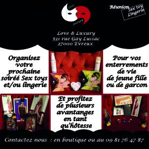 Réunion Sex toys/Lingerie